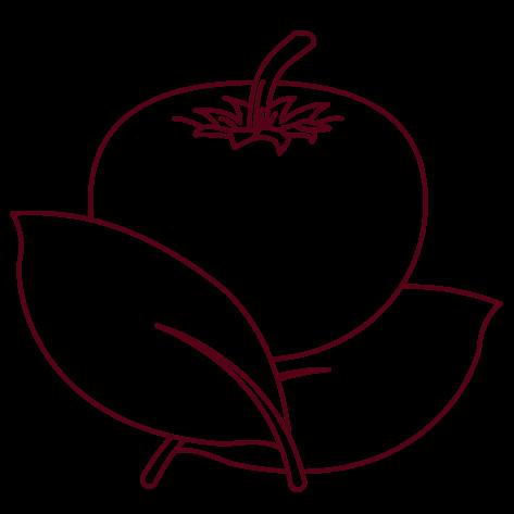 Piktogramm Tomate - Trattoria Etna Da Carmelo in Longerich (Köln) seit 1983