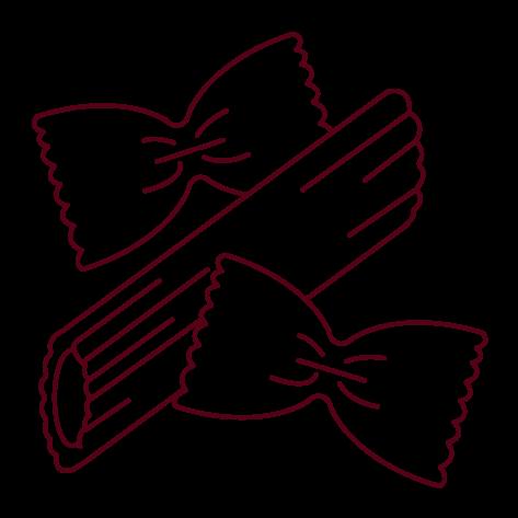Piktogramm Pasta - Trattoria Etna Da Carmelo in Longerich (Köln) seit 1983